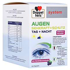 DOPPELHERZ Augen Sehkraft+Schutz system Kapseln 120 Stück
