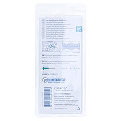 CURAPROX prime plus 06 5 Bürsten+1 Halter türkis 1 Packung - Rückseite