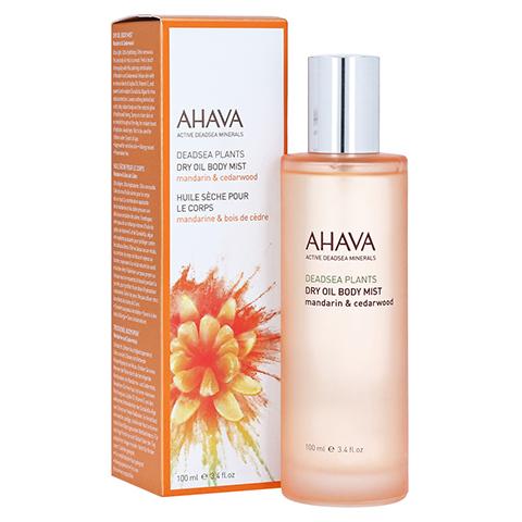 Ahava Dry Oil Body Mist Mandarine & Zedernholz 100 Milliliter