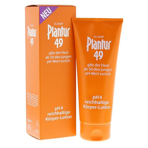 PLANTUR 49 pH4 Körper-Lotion 200 Milliliter