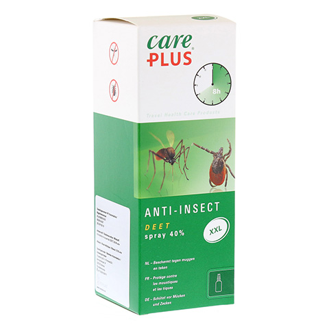 CARE PLUS Anti-Insect Deet 40% XXL Spray 200 Milliliter