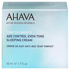 Ahava Age Control Even Tone Sleeping Cream 50 Milliliter - Vorderseite