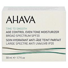 Ahava Age Control Even Tone Moisturizer Broad Spectrum SPF 20 50 Milliliter - Vorderseite
