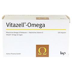 VITAZELL-Omega Kapseln 120 Stück - Vorderseite