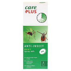 CARE PLUS Anti-Insect Deet 40% XXL Spray 200 Milliliter - Vorderseite