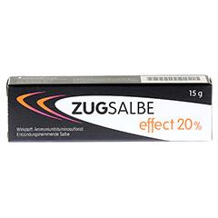 ZUGSALBE effect 20% Salbe 15 Gramm - Vorderseite