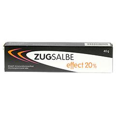 ZUGSALBE effect 20% Salbe 40 Gramm N1 - Vorderseite