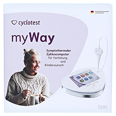 CYCLOTEST myWay Zykluscomputer 1 Stück - Vorderseite