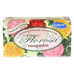 KAPPUS Florosa rosegarden Seife 150 Gramm - Vorderseite