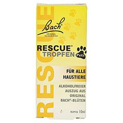 BACH ORIGINAL Rescue Pets Tropfen vet. 10 Milliliter - Vorderseite