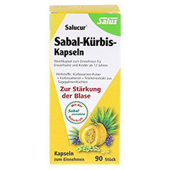 SABAL KÜRBIS Kapseln Salucur Salus 90 Stück - Vorderseite