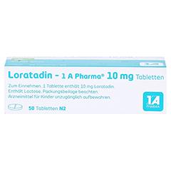 Loratadin-1A Pharma 50 Stück N2 - Oberseite