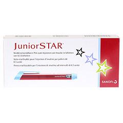 JUNIORSTAR Injektionsgerät rot 1 Stück - Vorderseite