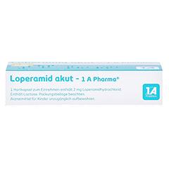 Loperamid akut-1A Pharma 10 Stück N1 - Oberseite