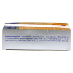 XENOFIT Magnesium+Vitamin C Btl. 20x4 Gramm - Unterseite