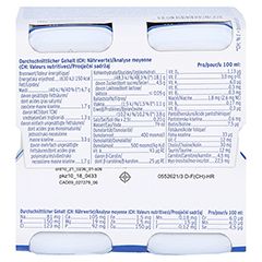 FREBINI Energy Fibre Drink Vanille Trinkflasche 4x200 Milliliter - Unterseite