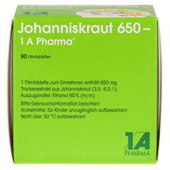 JOHANNISKRAUT 650-1A Pharma Filmtabletten 90 Stück - Unterseite