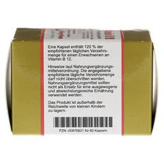VITAMIN B12 KAPSELN 60 Stück - Unterseite