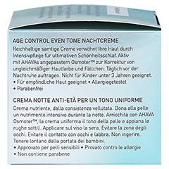Ahava Age Control Even Tone Sleeping Cream 50 Milliliter - Rechte Seite