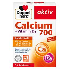 DOPPELHERZ Calcium 700+Vitamin D3 Tabletten 30 Stück