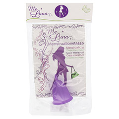 MENSTRUATIONSTASSE Me Luna Classic Gr.S violett 1 Stück
