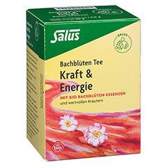 BACHBLÜTEN Tee Kraft & Energie Bio Salus Fbtl. 15 Stück