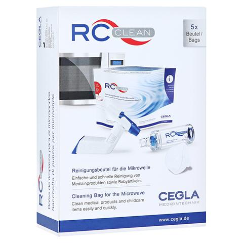 RC Clean Reinigungsbeutel f.d.Mikrowelle 5 Stück