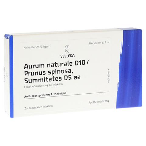 AURUM NATURALE D 10/Prunus spinosa summit D 5 Amp. 8x1 Milliliter N1