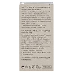 Ahava Men Age Control Moisturizing Cream SPF 15 50 Milliliter - Rückseite