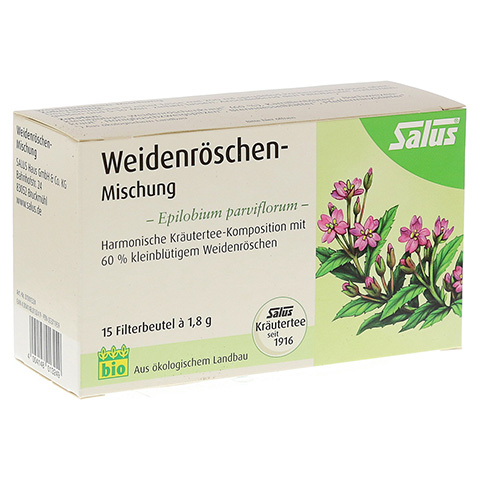 WEIDENRÖSCHENMISCHUNG Kräutertee Salus Filterbeut. 15 Stück