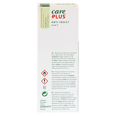 CARE PLUS Anti-Insect Deet 40% XXL Spray 200 Milliliter - Rückseite