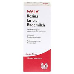 RESINA LARICIS BADEMILCH 100 Milliliter - Rückseite