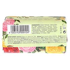 KAPPUS Florosa rosegarden Seife 150 Gramm - Rückseite