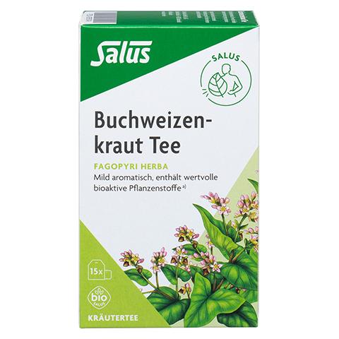 BUCHWEIZENKRAUT Tee Fagopyri herba Bio Salus Fbtl. 15 Stück