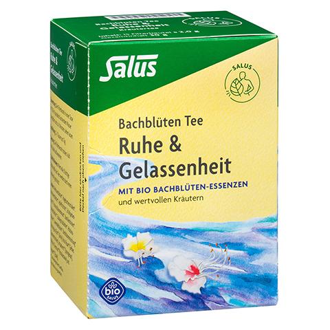 Salus Bachblüten Tee Ruhe & Gelassenheit Bio 15 Stück