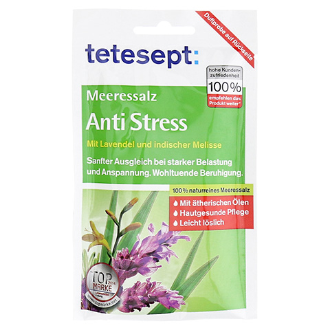 TETESEPT Meeressalz Anti-Stress 80 Gramm