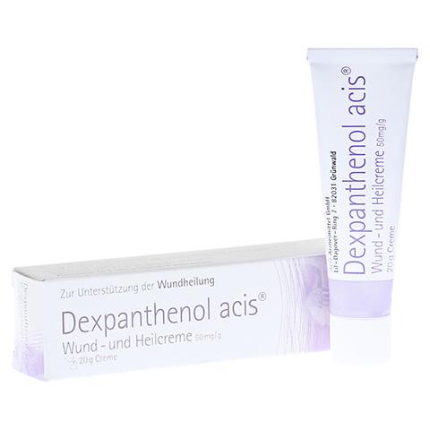 Dexpanthenol acis Wund- und Heilcreme 50mg/g 20 Gramm