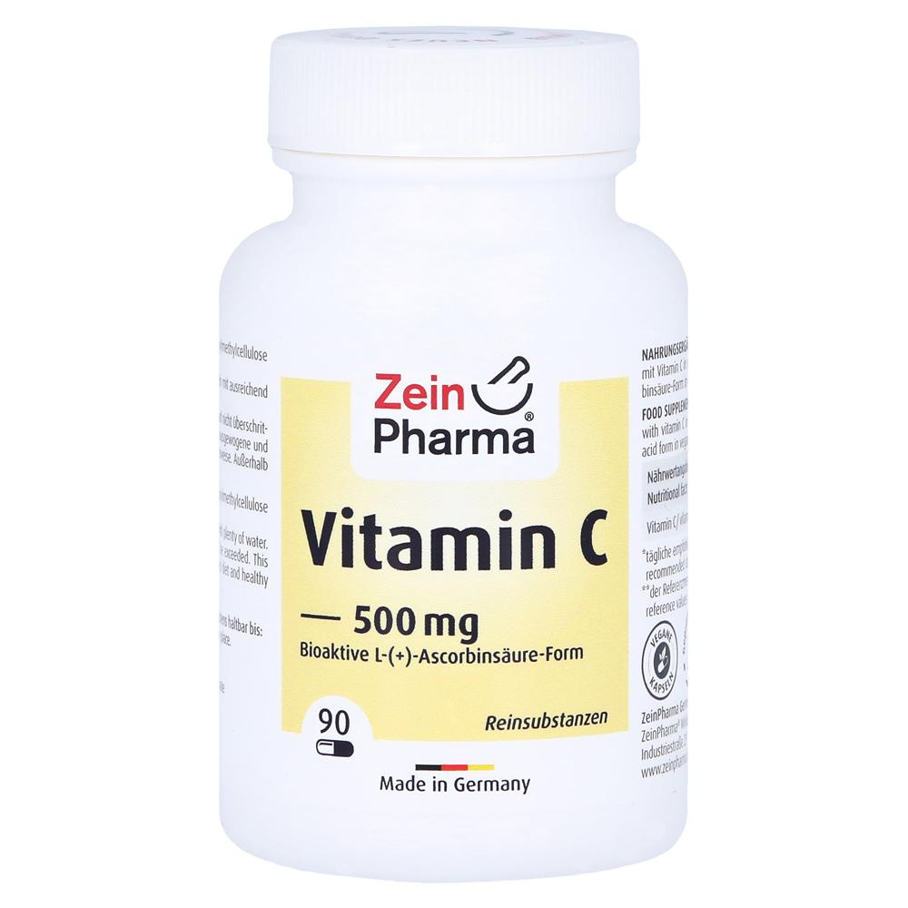 vitamin c 500 mg kapseln 90 st ck online bestellen medpex versandapotheke. Black Bedroom Furniture Sets. Home Design Ideas