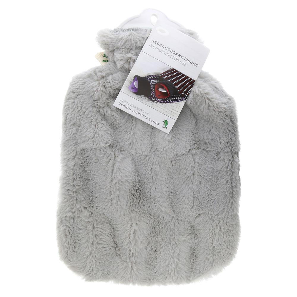 flauschbezug-warmflasche-grau-1-stuck, 10.89 EUR @ medpex-de