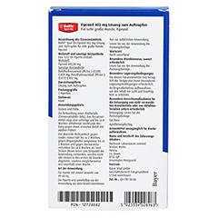 BOLFO Spot-On Fipronil 402 mg Lsg.f.sehr gro.Hunde 3 Stück - Rückseite