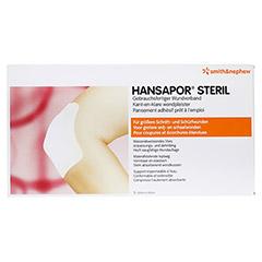 HANSAPOR steril Wundverband 10x20 cm 5 Stück - Vorderseite