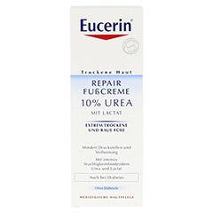 EUCERIN TH 10% Urea Fusscreme 100 Milliliter - Vorderseite