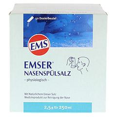 Emser Nasenspülsalz physiologisch 50 Stück - Vorderseite