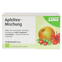 APFELTEE-Mischung Früchtetee Bio Salus Filterbeut. 15 Stück - Vorderseite