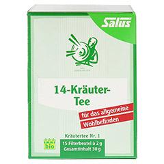 14-KRÄUTER-Tee Kräutertee Nr.1 Salus Filterbeutel 15 Stück - Vorderseite