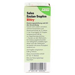 Salus Enzian-Tropfen Bittry 50 Milliliter - Linke Seite