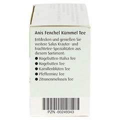 ANIS FENCHEL Kümmel Tee AFeKü Bio Salus Filterbtl. 15 Stück - Rechte Seite