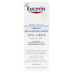 EUCERIN TH 10% Urea Fusscreme 100 Milliliter - Rückseite