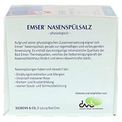 EMSER Nasenspülsalz physiologisch Btl. 50 Stück - Rückseite