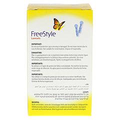 FREESTYLE Lancets 50 Stück - Rückseite